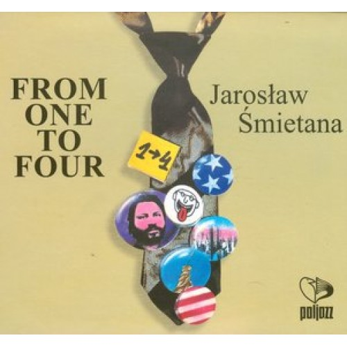 Jarosław Śmietana - From One To Four [CD]