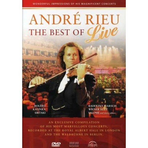 Andre Rieu - THE BEST OF - LIVE [DVD]