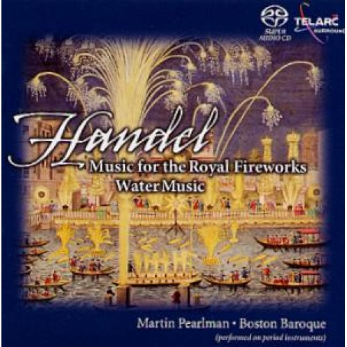 Martin Pearlman - HANDEL: WATER MUSIC/WATER MUSIC [SACD]