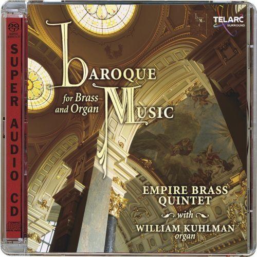 Empire Brass Quintet - BAROQUE MUSIC FOR BRASS AND ORGAN [SACD]