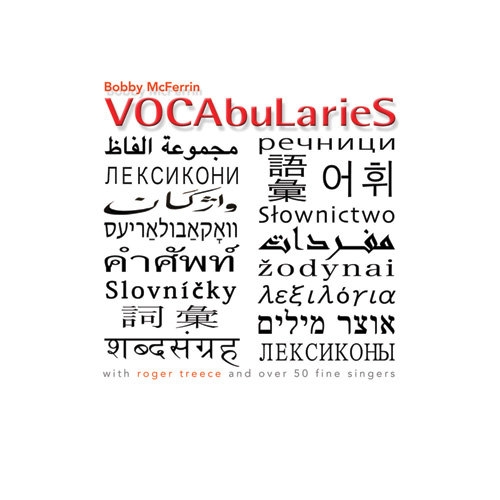 Bobby McFerrin - VOCAbuLarieS (CD)