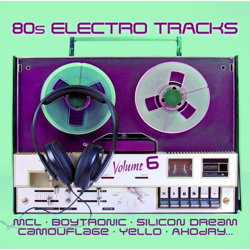 80s Electro Tracks Volume 6 - Various Artists [CD]
