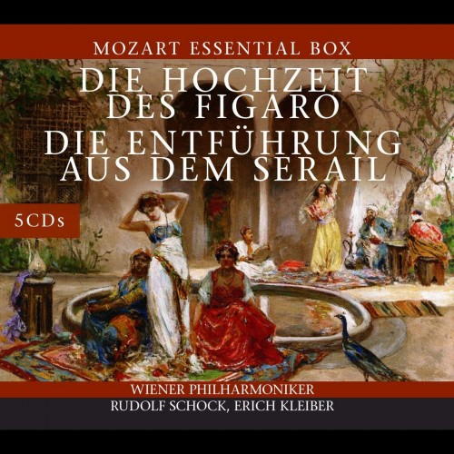 Vienna Philharmonic Orchestra (Erich Kleiber, George Szell) - Wolfgang Amadeus Mozart: The Marriage of Figaro / The Abduction from the Seraglio [5CD]