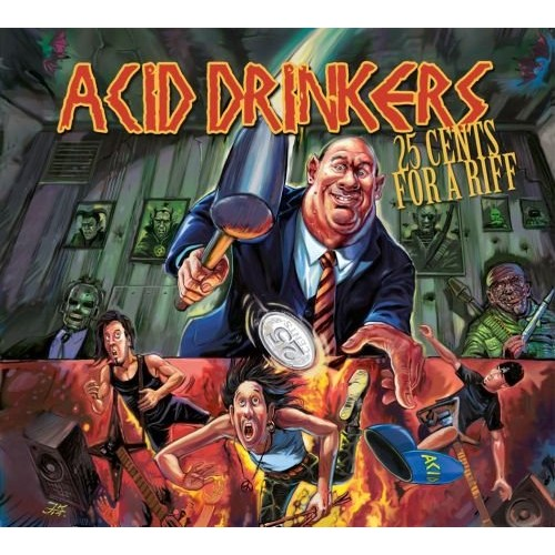 Acid Drinkers - 25 Cents For a Riff [CD]