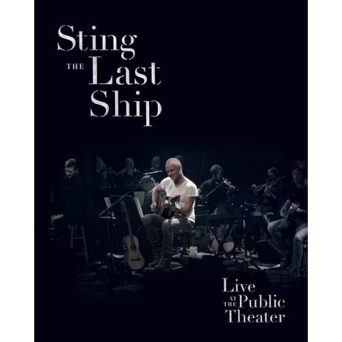 Sting - THE LAST SHIP: LIVE AT THE PUBLIC THEATER [DVD] (Polska Cena)