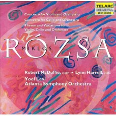 Yoel Levi/Robert McDuffie - MIKLOS ROZSA: CONCERTO FOR VIOLIN AND ORCHESTRA